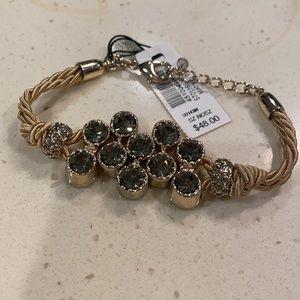 White House Black Market gold/bronze tone bracelet